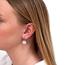 Glow White Earrings