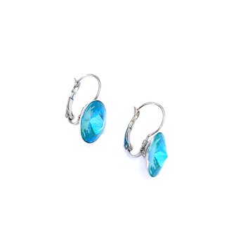 Glow Ocean Turquoise Earrings