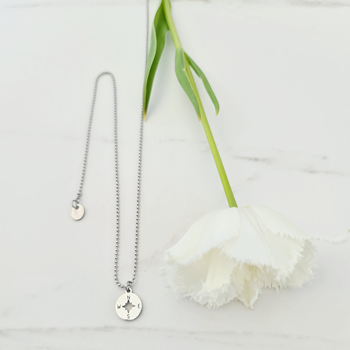 Direction Compass Necklace