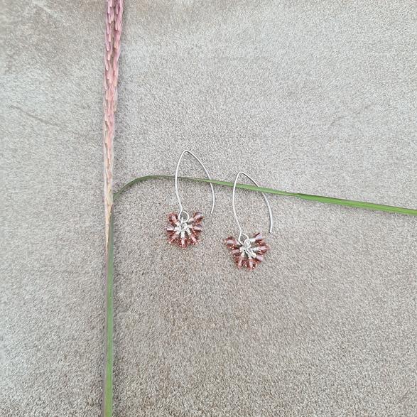 Earrings Blush Rose