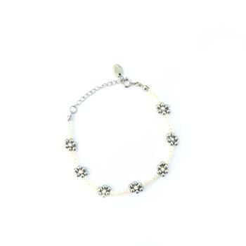 Flower Baroque Pearl Bracelet