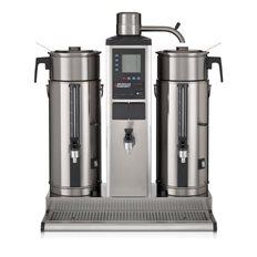 Bonamat Urnbryggare B5 HW, 2 Behållare, Varmvattenkran, 5 L