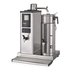 Bonamat Urnbryggare B5 HW, 1 Behållare V/H, Varmvattenkran, 5 L