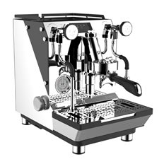 Crem Espressomaskin ONE 2B R-LFPP Dual