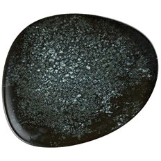 Bonna Flat oval tallrik 19cm, COSMOS BLACK, 12 st/fp