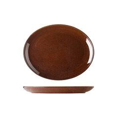 Patina Lifestyle Tallrik Oval 28cm Cocao, 3 st/fp