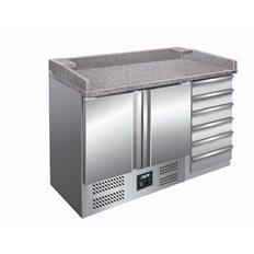 Saro Pizzakylbänk PZ 9001, Granitskiva, 0,23kW, 257 L