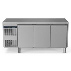 Zanussi Kylbänk, 3 Dörrar, -2+10°C, Kompressor, 440L