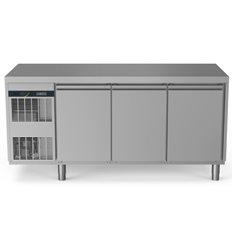 Zanussi Frysbänk, 3 Dörrar, -22-15°C, Kompressor, 440L
