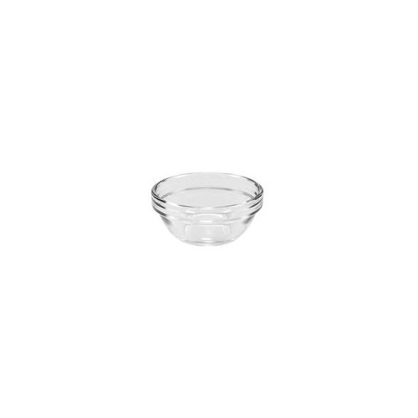 Merx Team Skål Ø 7 cm, stapelbar, Härdat glas, 7,5 cl, 6 st