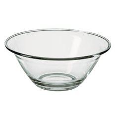 Merx Team Glasskål Ø 22 cm Chef, Härdat glas, 1,0 L, 6 st
