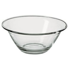 Merx Team Glasskål Ø 30 cm Chef, Härdat glas, 3,0 L, 6 st