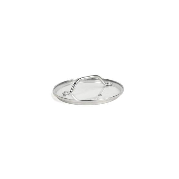 Exxent Glaslock Ø 18 cm, Härdat glas