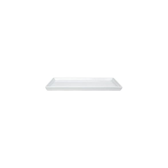 Exxent Fat 33x21 cm, rektangulärt, Fältspatporslin, 6 st