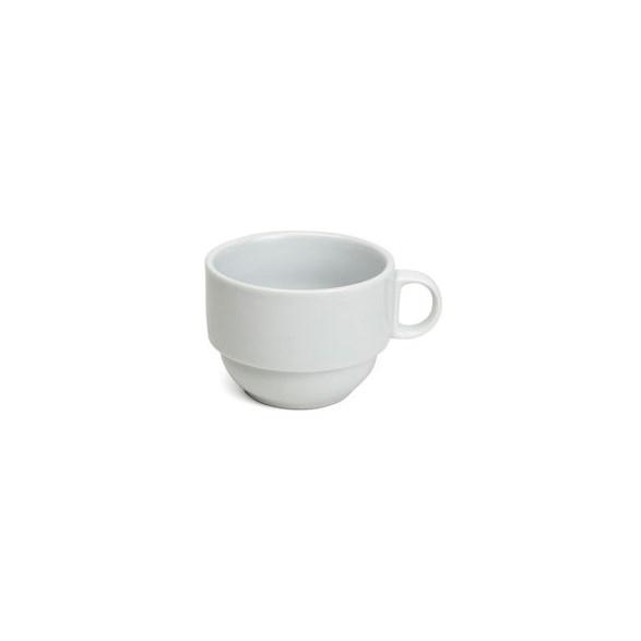 Exxent Kaffekopp 22 cl Paris, Fältspatporslin, stapelbar, 6 st
