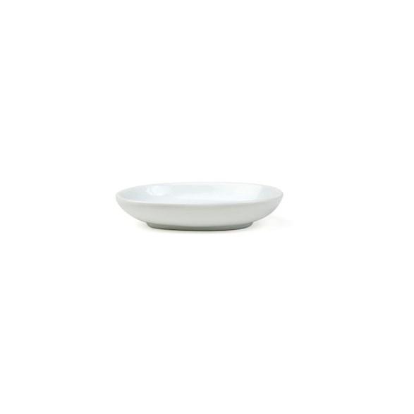 Exxent Fat 11x8 cm, oval, Fältspatporslin, 12 st