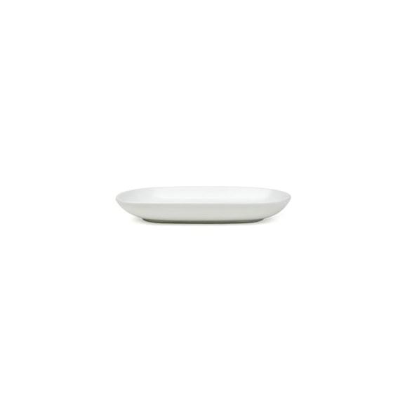 Exxent Fat 15x8 cm, oval, Fältspatporslin, 6 st