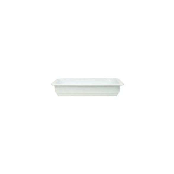 Exxent Form GN 1/3, 6 cm, Fältspatporslin