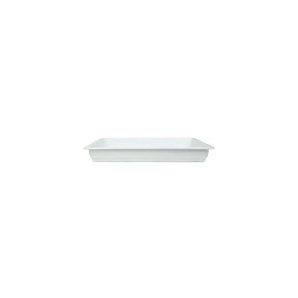Exxent Form GN 1/1, 6 cm, Fältspatporslin
