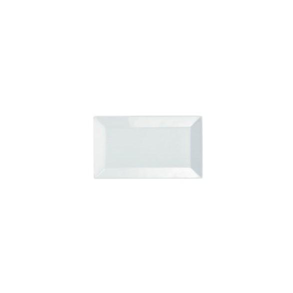 Exxent Tallrik flat 26,5x15,5 cm Quadro, Fältspatporslin, 4 st