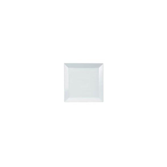 Exxent Tallrik flat 24x24 cm Quadro, Fältspatporslin