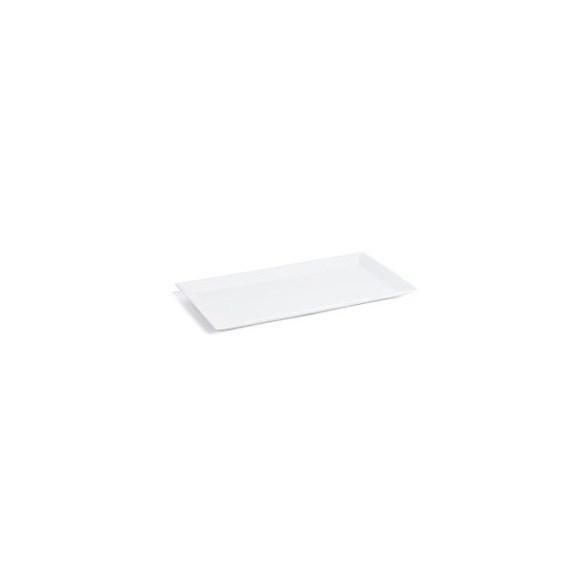 Exxent Tallrik flat 40x20 cm Quadro, Fältspatporslin
