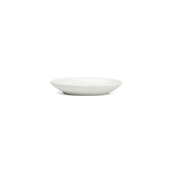 Exxent Fat 9x6 cm, ovalt, Förstärkt benporslin, 12 st