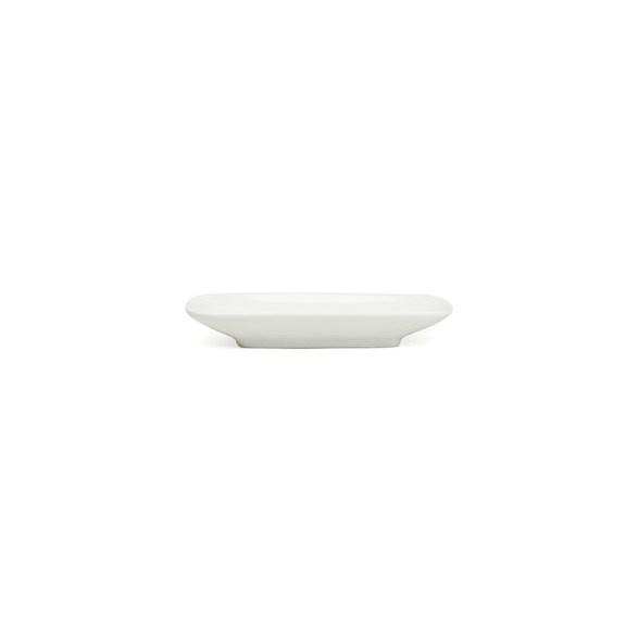 Exxent Fat 13,5x7 cm, rektangulärt, Förstärkt benporslin, 12 st