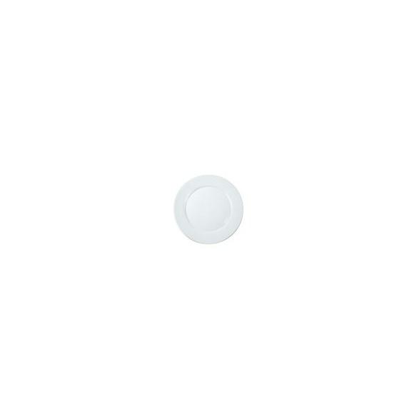 Exxent Tallrik flat Ø 17,5 cm Zeus, Förstärkt benporslin, 6 st