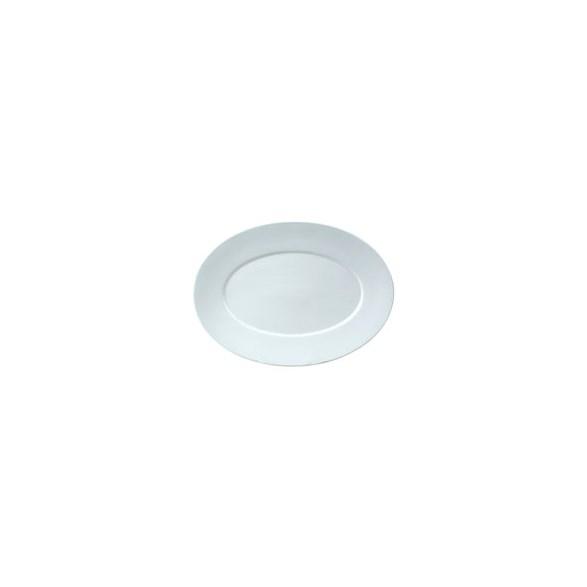 Exxent Tallrik flat 35x25,5 cm Zeus, Förstärkt benporslin, 3 st