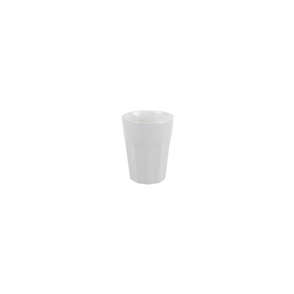 Exxent Mugg 8 cl Bologna Vit, Fältspatporslin, 6 st