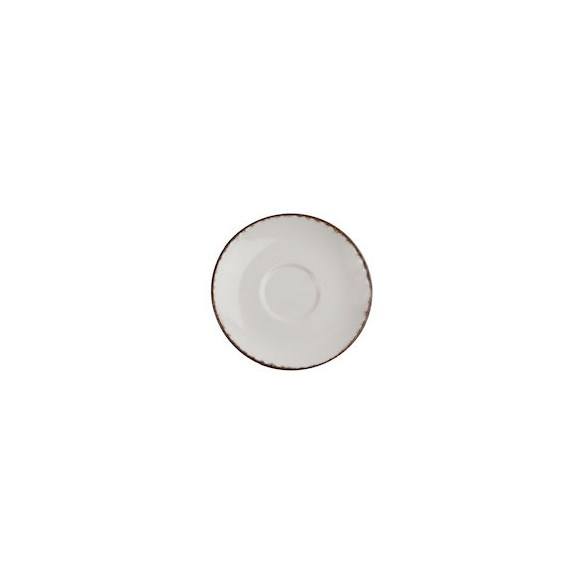 Xantia Cappuccinofat Ø 16,5 cm Fortuna Beige, Stengods, oregelbunden kant, 4 st