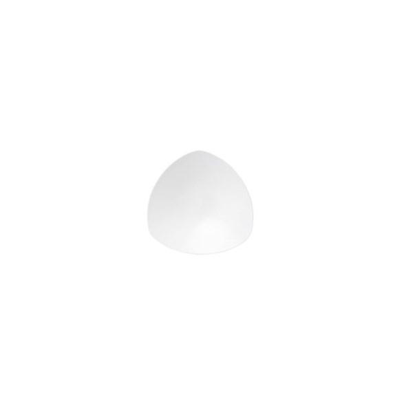 Exxent Tallrik djup Ø 21 cm Athos, Förstärkt benporslin, 6 st