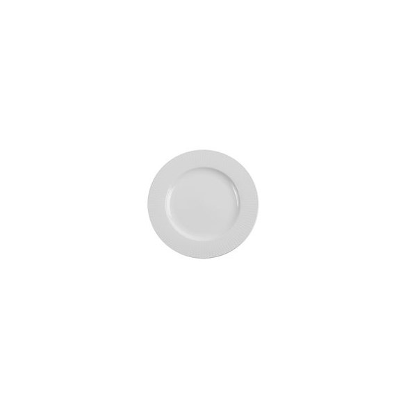 Exxent Tallrik flat Ø 26,5 cm Victoria, Förstärkt benporslin, 3 st