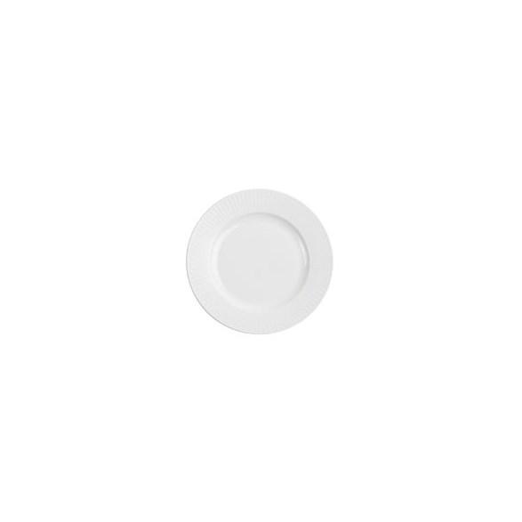 Exxent Tallrik flat Ø 20,5 cm Victoria, Förstärkt benporslin, 6 st