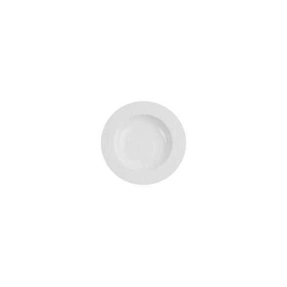 Exxent Tallrik djup Ø 27 cm Victoria, Förstärkt benporslin, 3 st