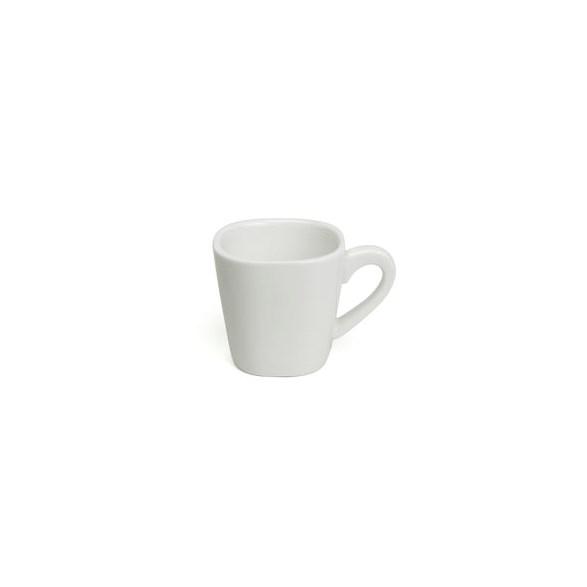 Exxent Espressokopp 8 cl Madrid, Förstärkt benporslin, 6 st