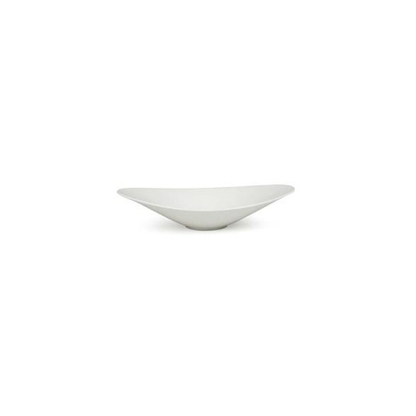 Exxent Skål 32x19 cm, oval, Förstärkt benporslin, 3 st