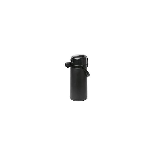 BBM Pumptermos 2,2 L Svart, Glasinsats, plast snurrplatta
