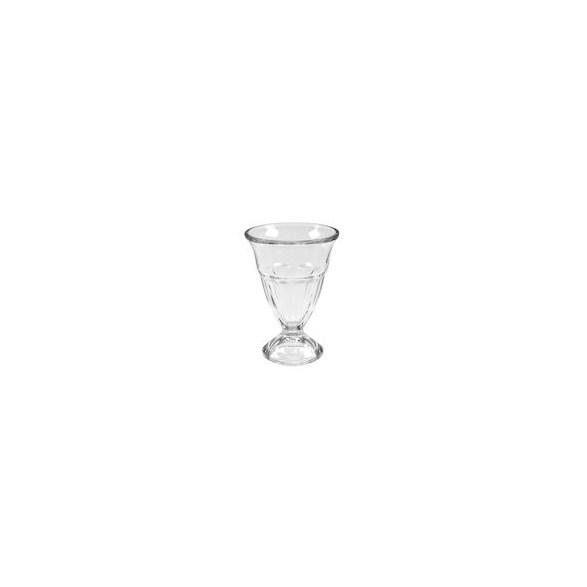 Merx Team Glass skål 25 cl, Klarglas, fot Ø 6,5 cm, 6 st