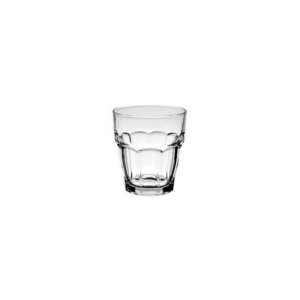 Merx Team Drinkglas 20 cl Rock Bar, Härdat glas, stapelbar, 48 st