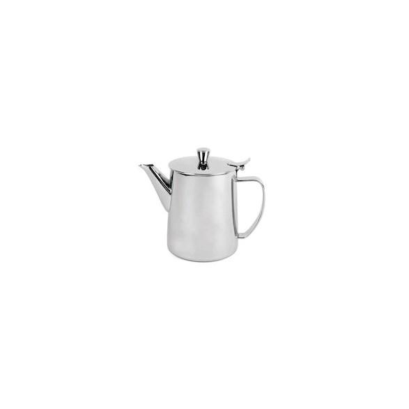 Exxent Kaffekanna 1,0 L, med lång pip, Rostfritt 18/8