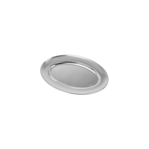 Exxent Serveringsfat 35x22,5 cm, ovalt, Rostfritt 18/8