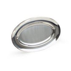 Exxent Serveringsfat 48x31 cm, ovalt, Rostfritt 18/8