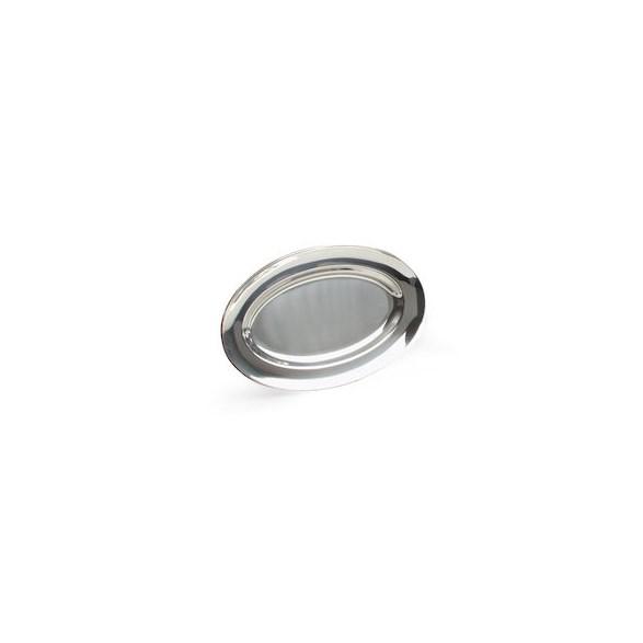 Exxent Serveringsfat 56x36 cm, ovalt, Rostfritt 18/8