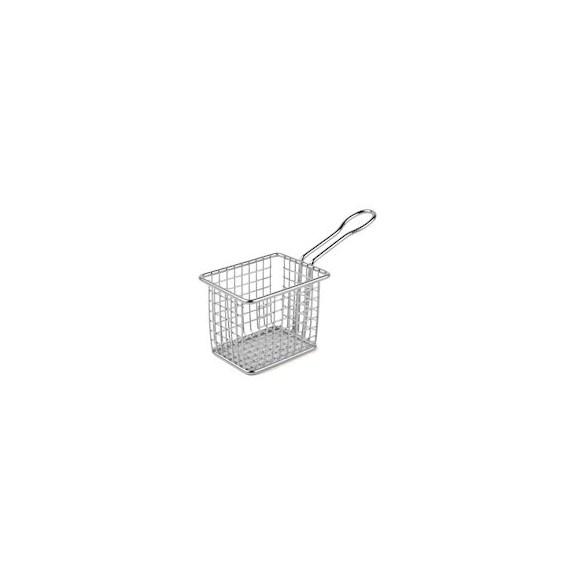 Exxent Minikorg 10x7,5 cm, Rostfritt 18/8, elektrolytbehandlad