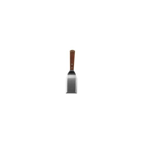Xantia Hamburgerspade 29 cm, Rostfritt 18/0 med träskaft