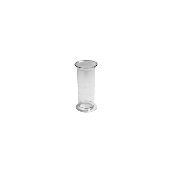 Exxent Mätglas 2/4 & 6 cl, Transparent plast