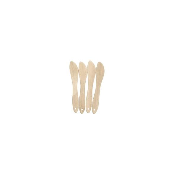 Exxent Smörkniv 18,5 cm, 4 st, Bok