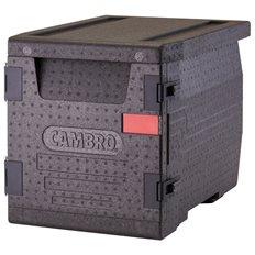 Cambro Transportbox 60 L, 3 x GN 1/1 -10, Frontmatad